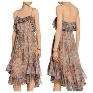 ZIMMERMANN Harlequin Heriz Flounce Dress